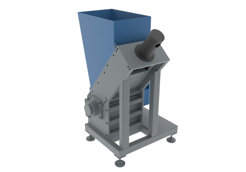 S450 Single Shaft Shredder