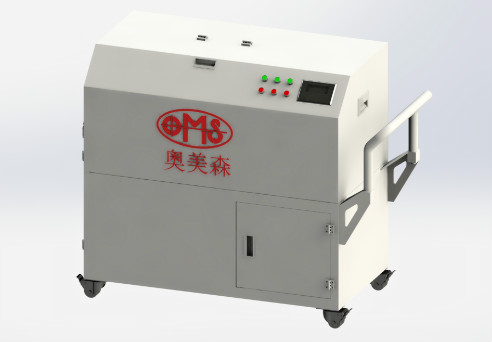 Mask disinfecting crusher